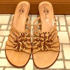 Tommy Bahama low heel sandal size 9